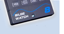 The BW8 Bilge Pump Activity Monitor is an aid to Marine safety